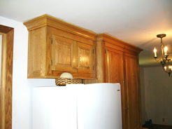 Deep cove crown molding